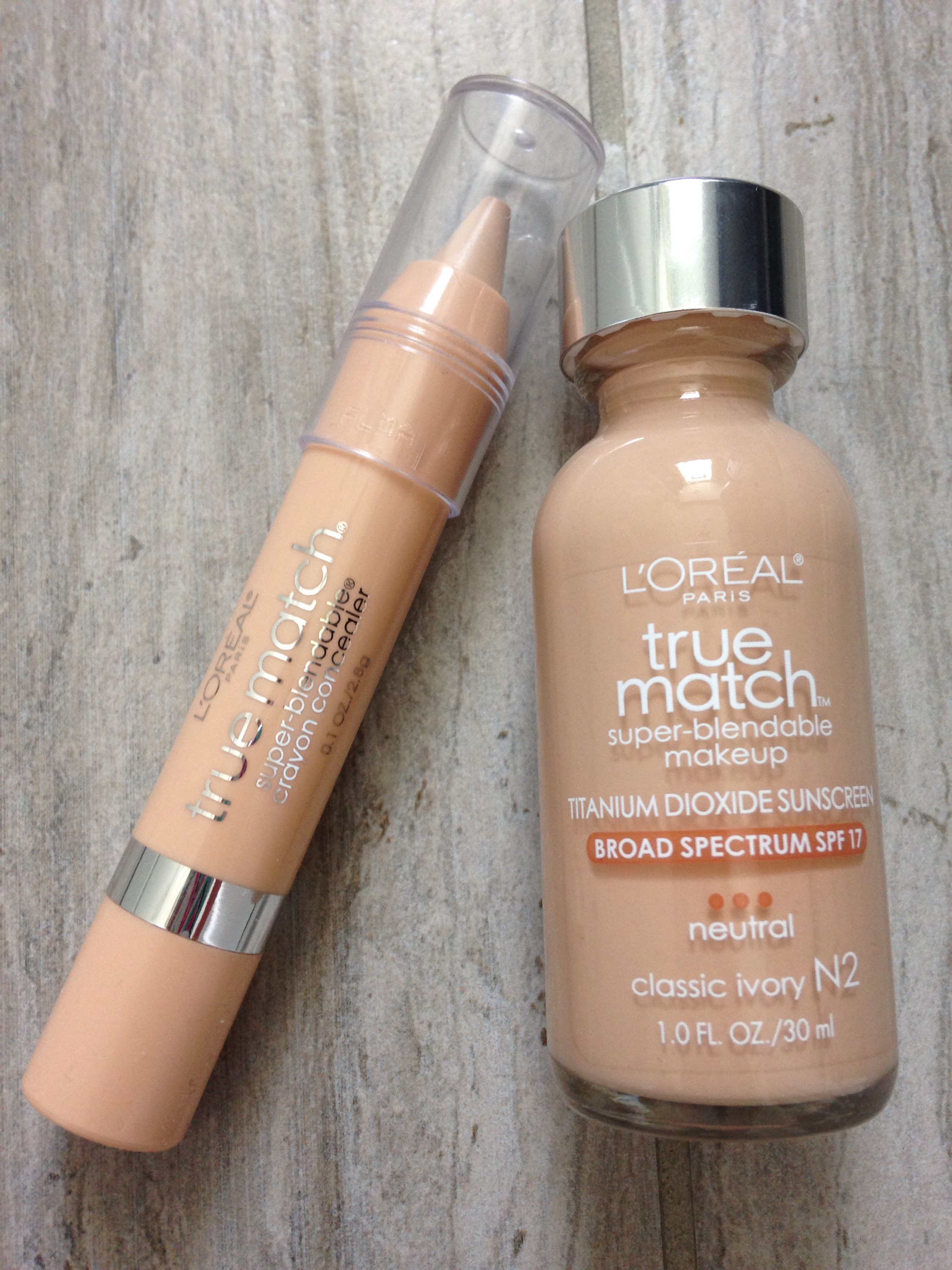 foundation & concealer
