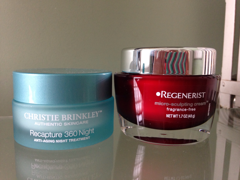 anti-aging, repairing moisturizers