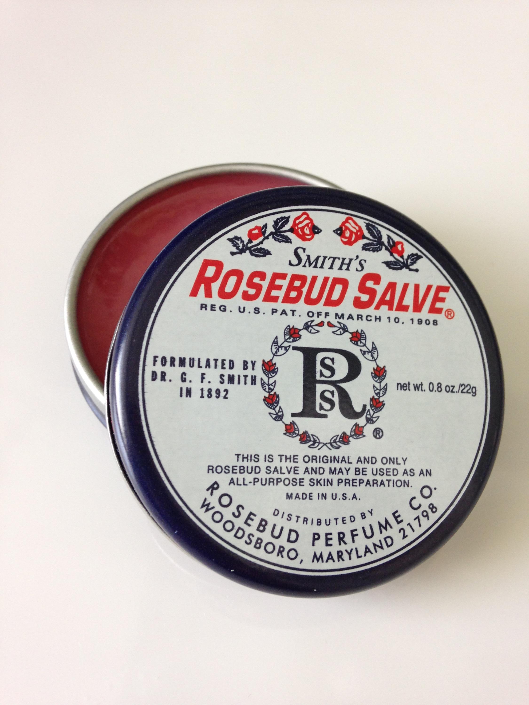 rosebud salve, lip balm, cuticles