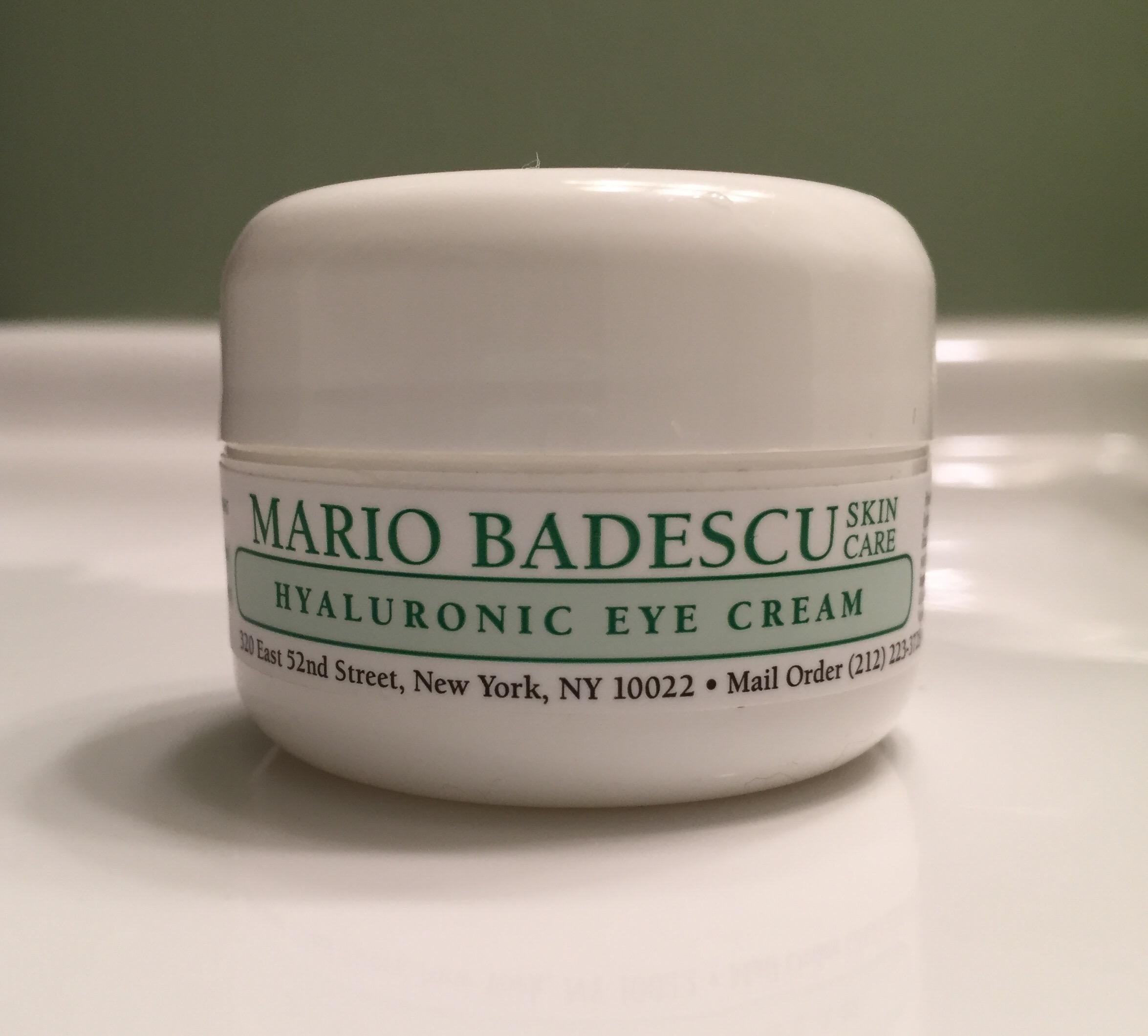 mario badescu, hyaluronic acid eye cream