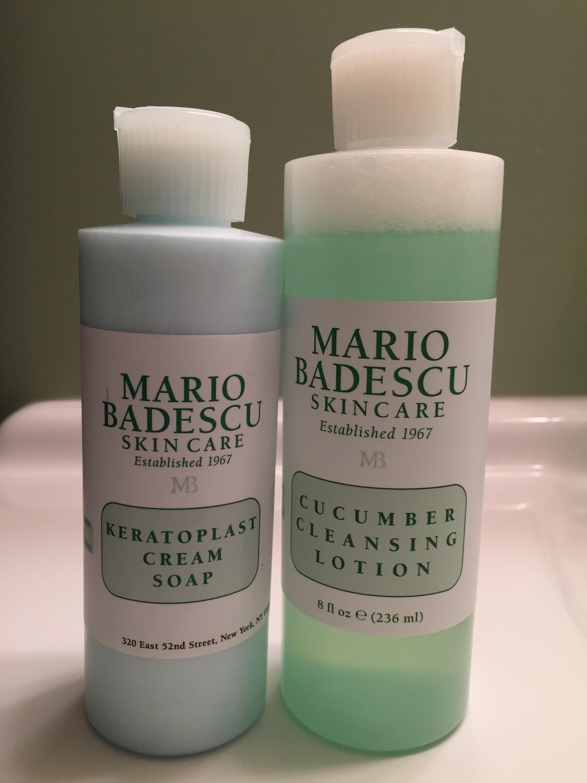 skincare, mario badescu, cleanser, toner