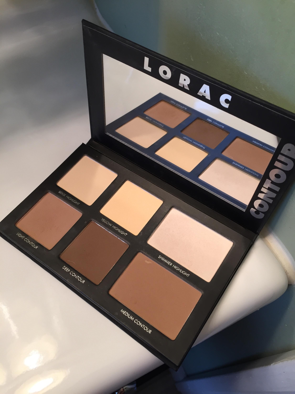 contour makeup, palette, lorac