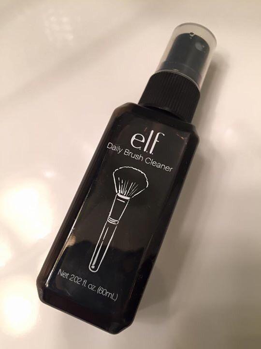 elf cosmetics daily brush cleaner