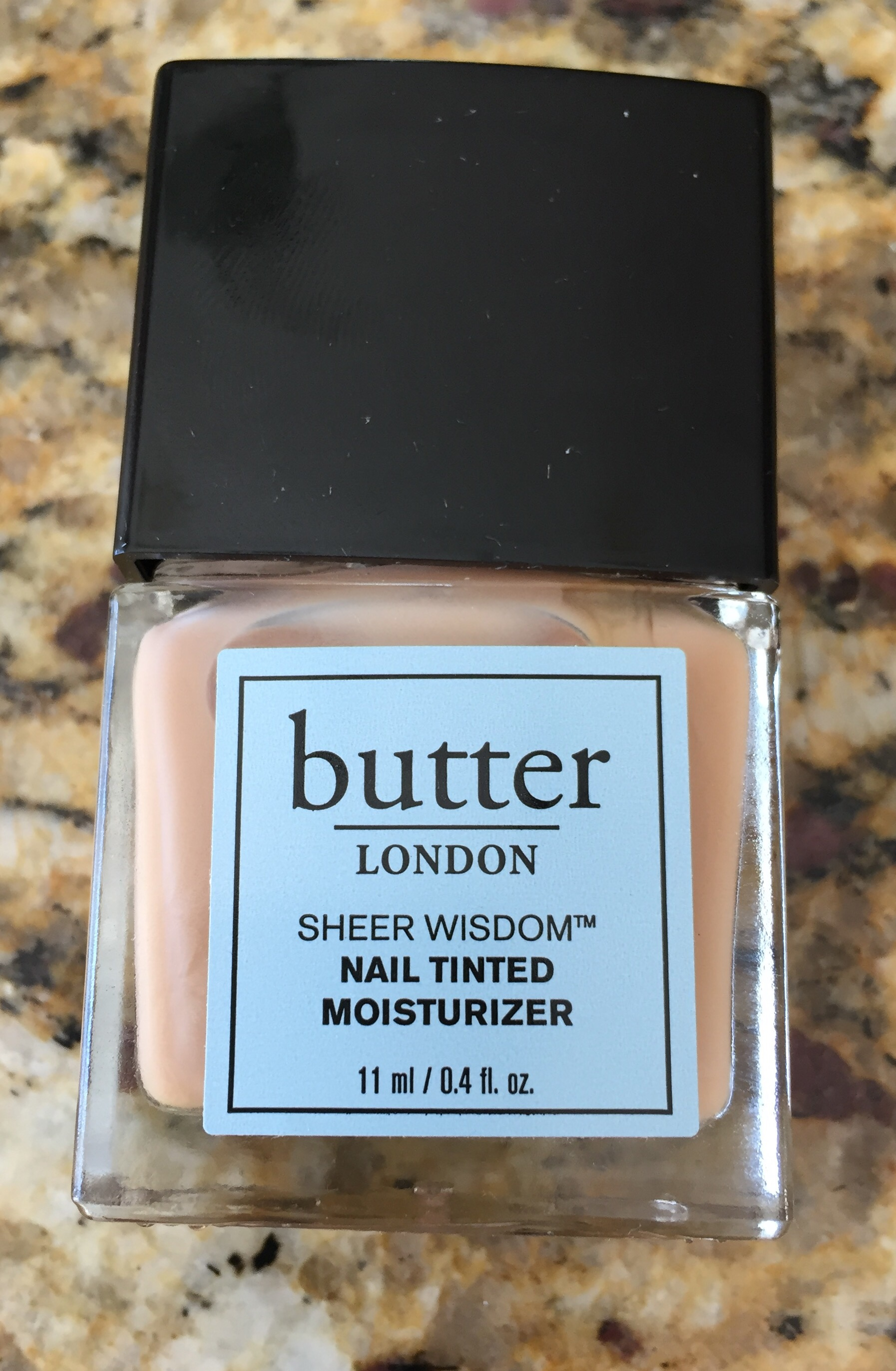 Product Review: butter LONDON Sheer Wisdom Nail Tinted Moisturizer