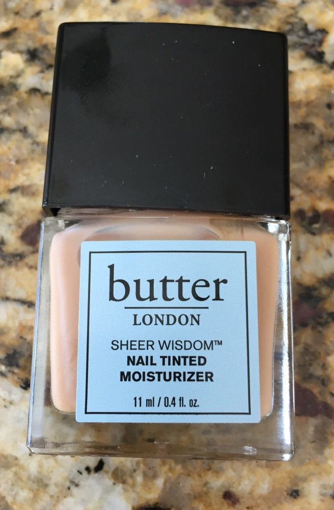 butter london, nail polish, sheer wisdom